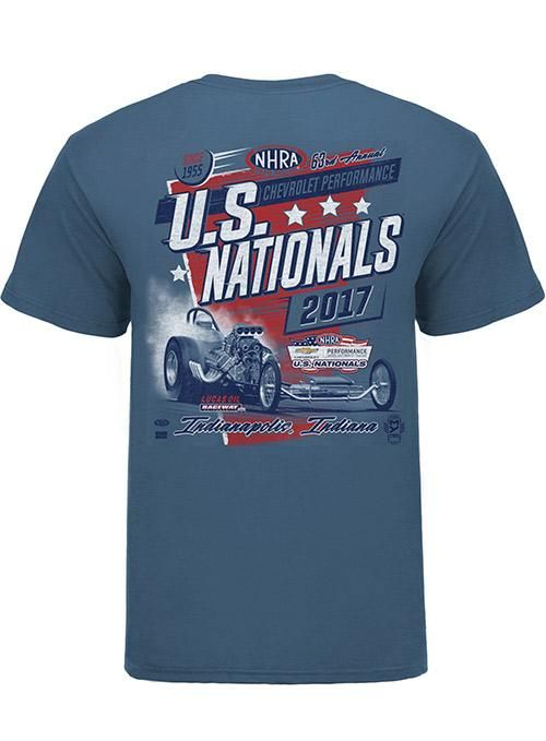 2017 Chevrolet Performance U S Nationals Retro T Shirt Retro