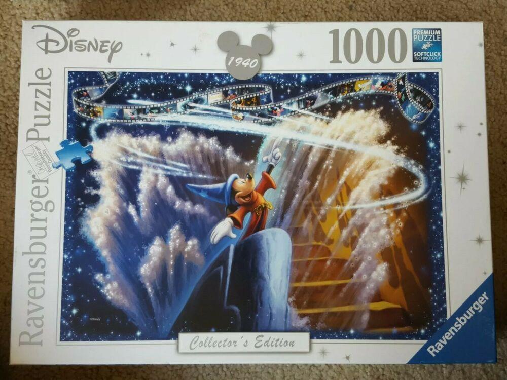 Ravensburger Disney Fantasia Collector S Edition Jigsaw Puzzle 196753 1000 Piece Ravensburger Ravensburger Fantasia Disney Disney