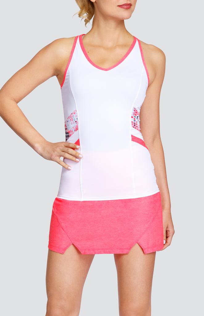 Mercedes Tank White Active Wear For Women Tennis Fashion Tennis Clothes