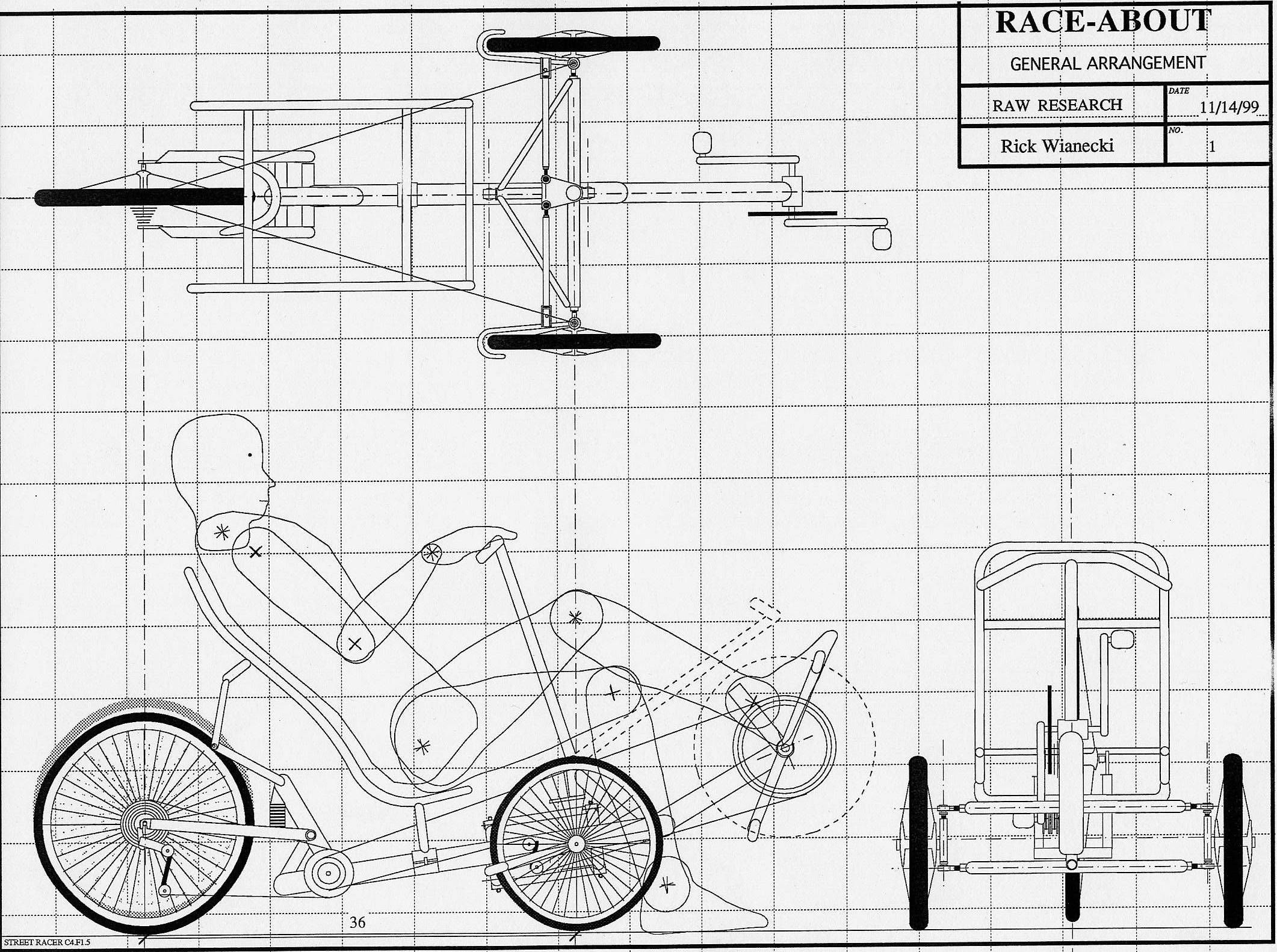 Easy Recumbent Bike Plan Buscar Con Google Bike