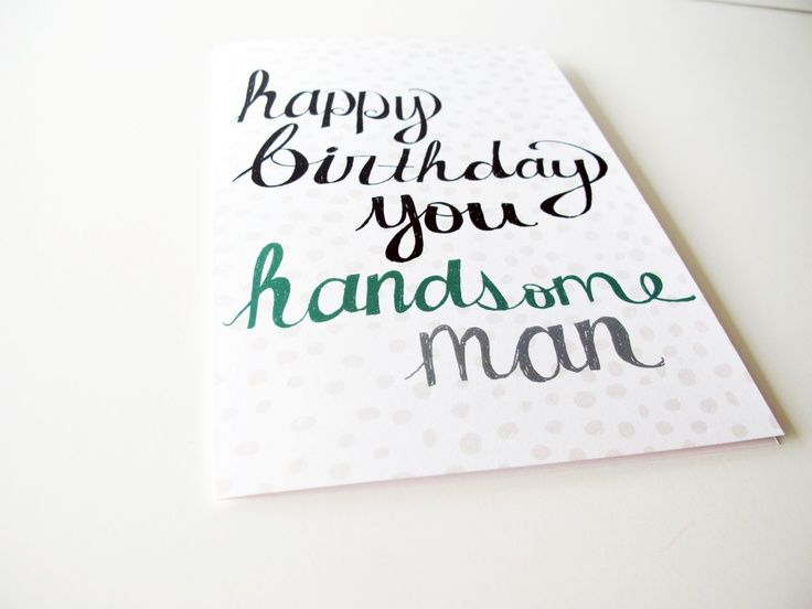 African american birthday wishes to husband google search boyfriend birthday card husband birthday card happy birthday card for him bday card happy birthday you handsome man recycled paper bookmarktalkfo Image collections