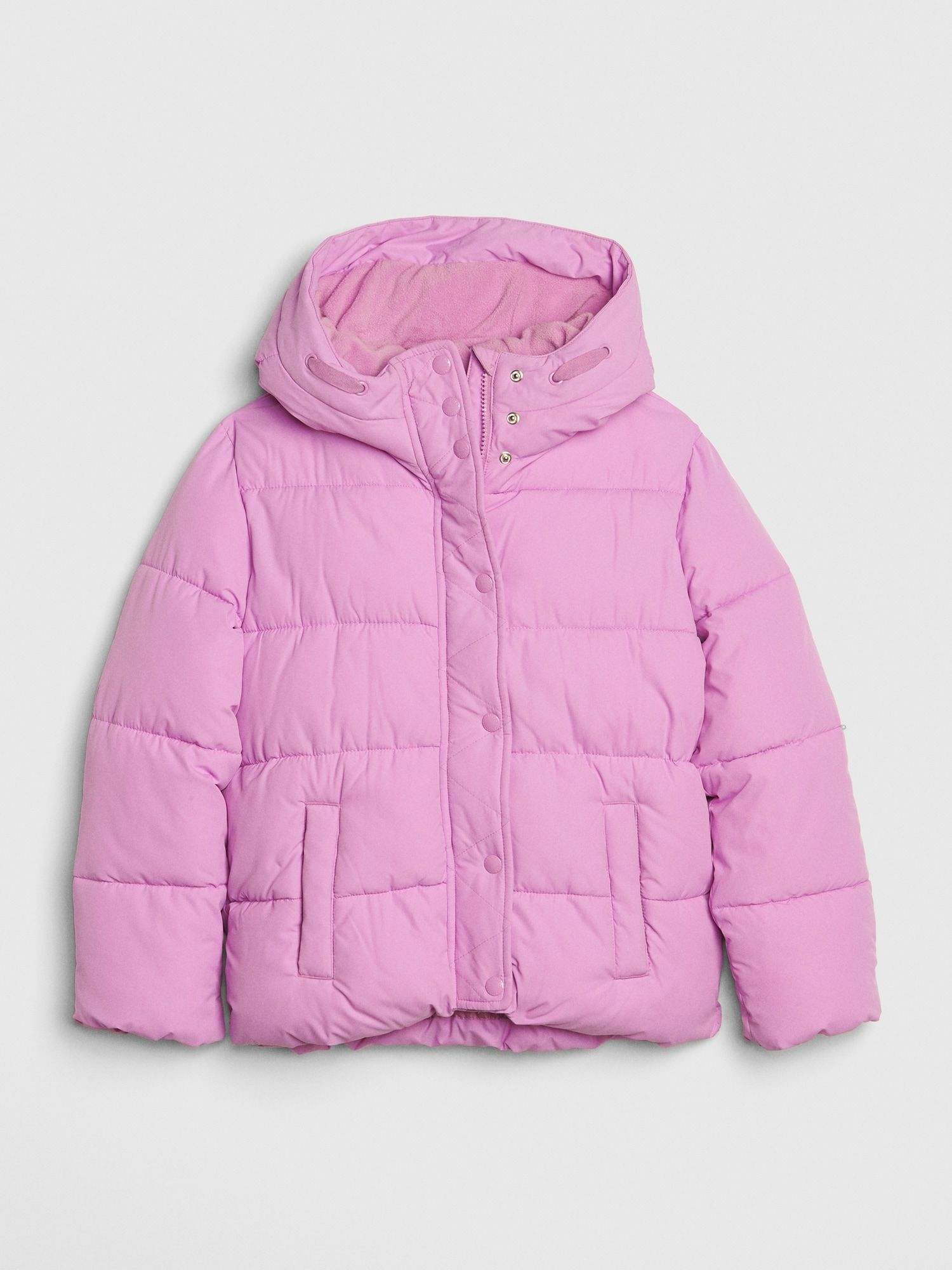 Gap Kids Coldcontrol Max Puffer Purple Orchid Girl Coat Baby Kids Clothes Puffer [ 2000 x 1500 Pixel ]