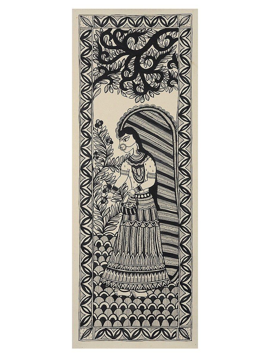 Buy Online in 2020 Indian folk art, Madhubani art