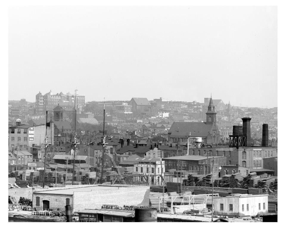 Little Italy Baltimore Md 1906 Historic Baltimore American Cities San Francisco Skyline