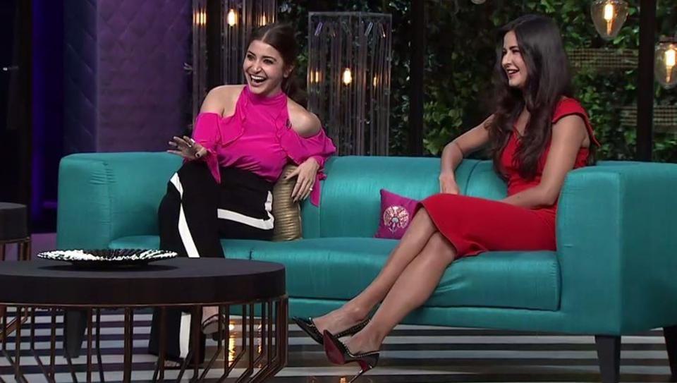 Karan tells Anushka he had a crush on her : KWK with Anushka and Katrina