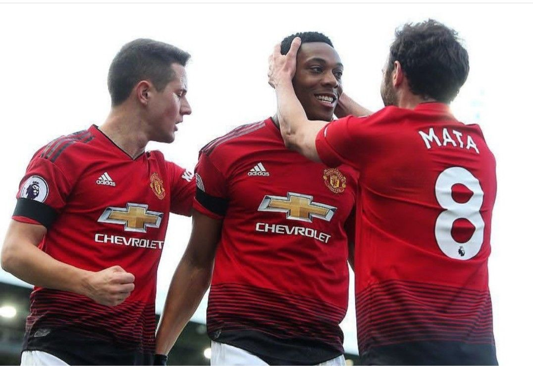 Pl 9 2 19 Manchester United Juan Mata Anthony Martial