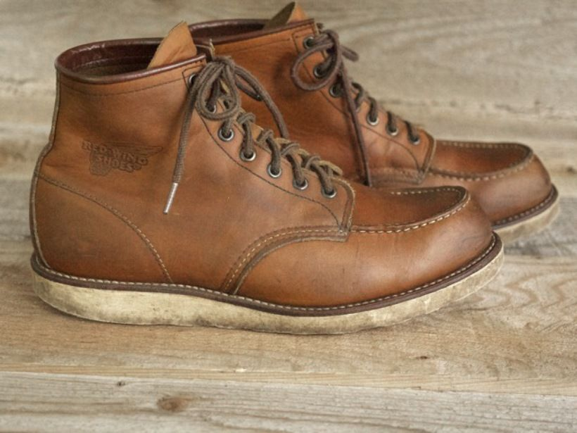 Red Wing #875 boot. With the right care you will wear this boot ...