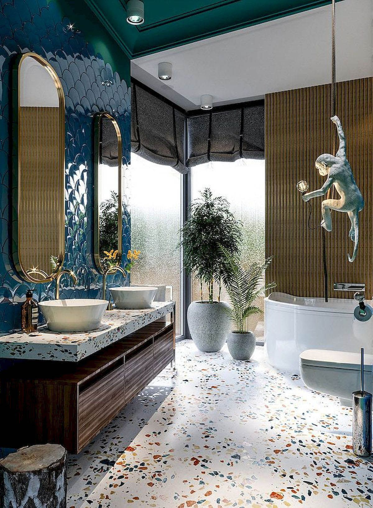 Bathroom Flooring Ideas To Offer Your Flooring Area The Wow Variable Traditional Bathroom Designs Modern Bathroom Design Dream Bathrooms