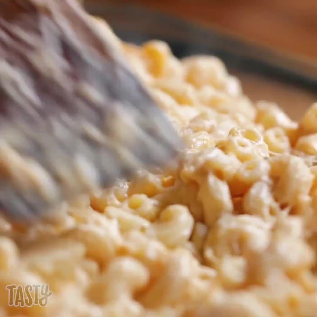 """Tasty on Instagram: """"Ultimate mac and cheese for a potluck"""