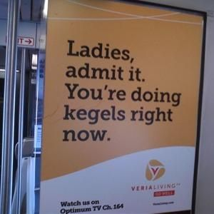 Our transportation ads in NYC got a lot of buzz for: Veria Living - GO WELL http://www.veria.com/