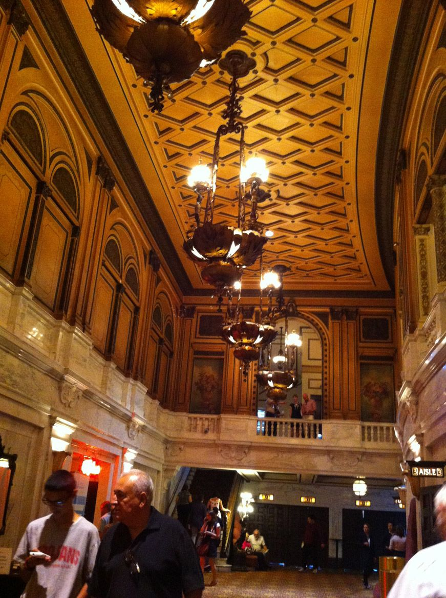 Main lobby of the orpheum theatre in downtown los angeles