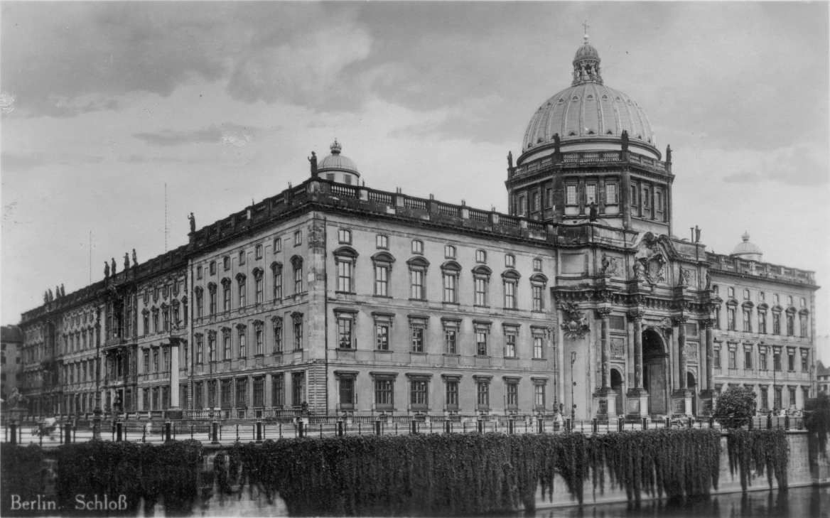 Old Berliner Stadtschloss in the 1920s.