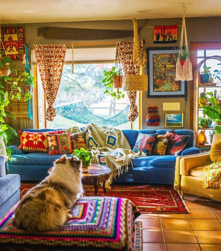 Plant Life Series A Colorful Southwestern Maximalist Home