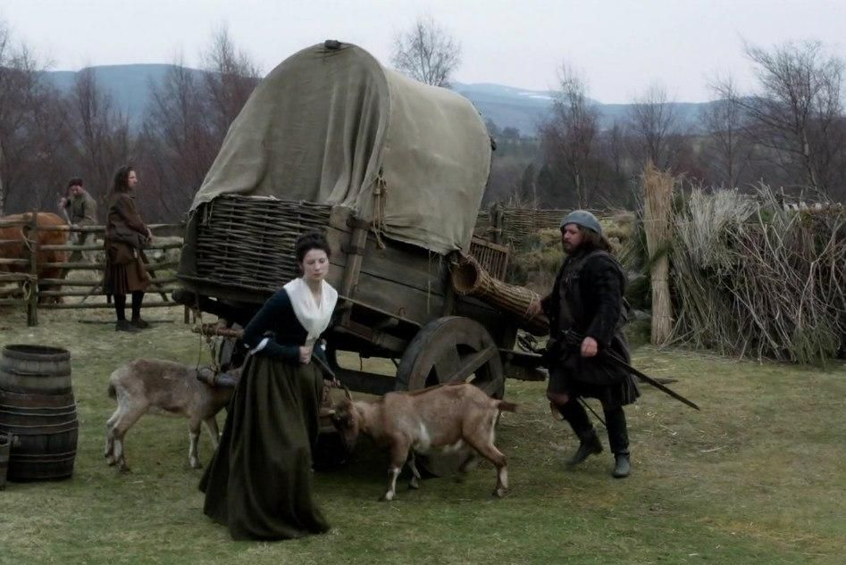 outlander happy new year 2015 year of the goat