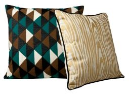 yep, I'll be lined up to get this faux bois pillow from The Shops at Target!