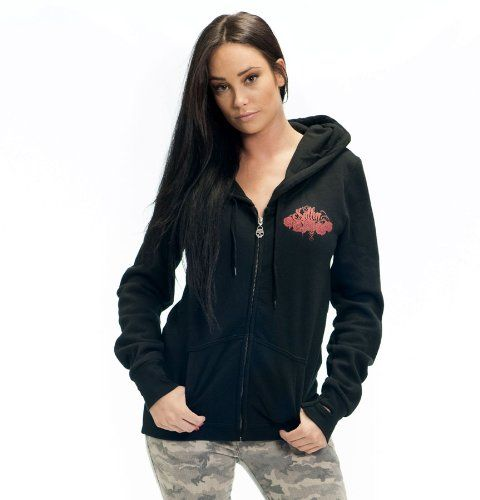 $59.99 cool Sullen Angel Bouquet Hoodie Black