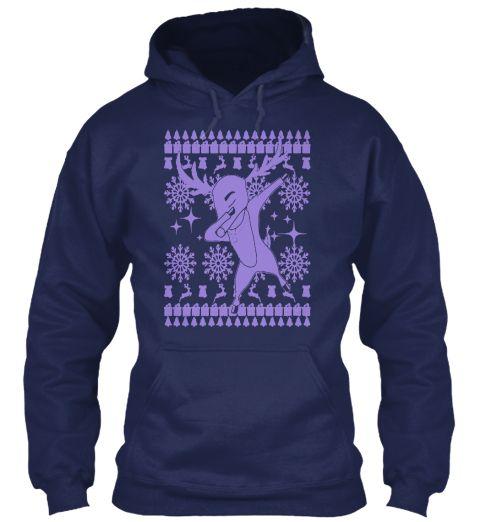 Merry Christmas T Shirt Navy Sweatshirt Front