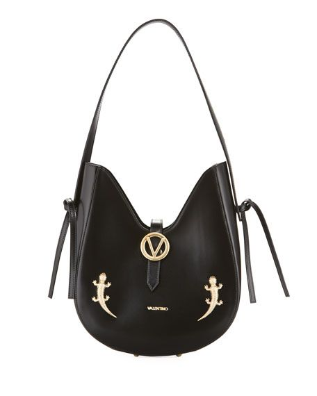 5c61d98b63 Shop Anny Lizard Dipped Shoulder Bag