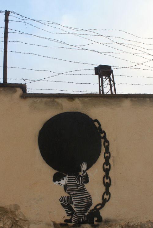 Prison Break... Street art