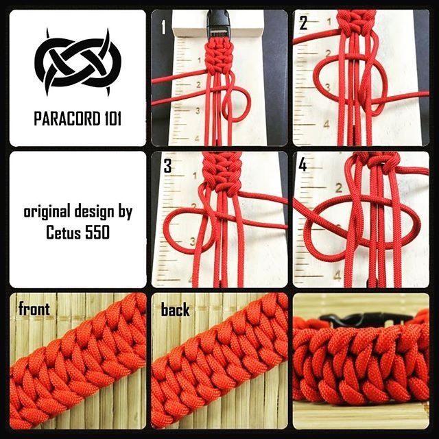 Aquarius By Cetus 550 Cetus550 Paracord Paracord101 With