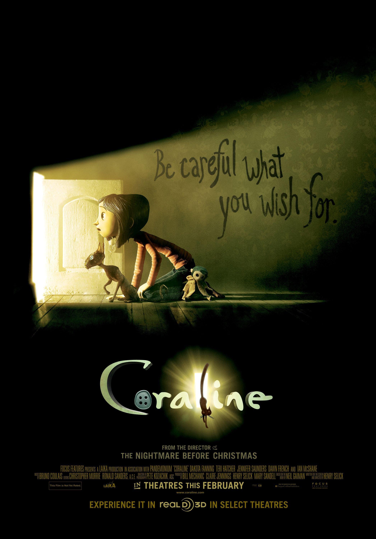 Love this movie ! Coraline | Favorite movies/shows | Pinterest ...