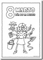 Colorear Dibujos Día De La Mujer Comics Origami
