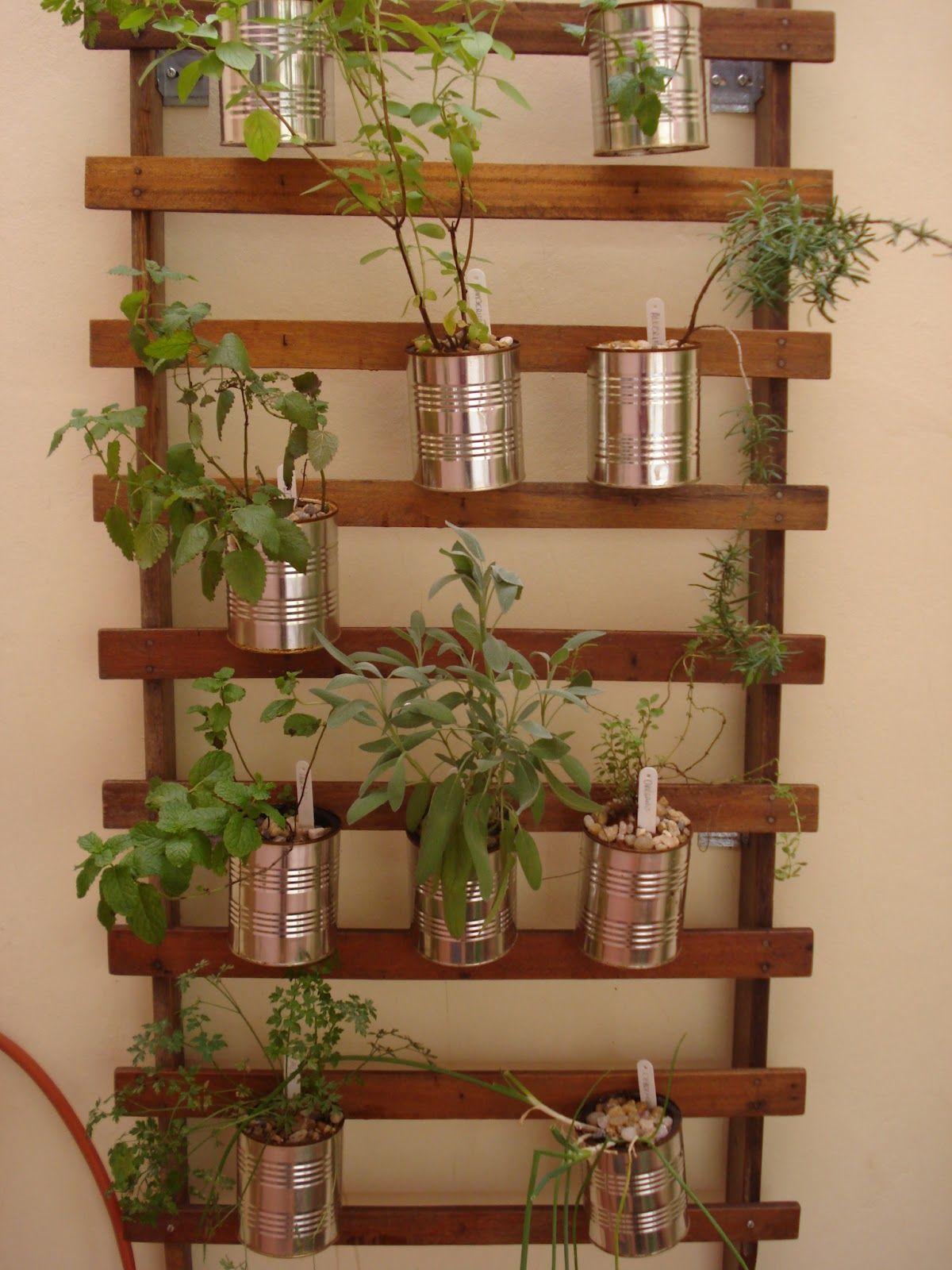 Herbs Garden Cheiro Do Verde Hortas Verticais Mais