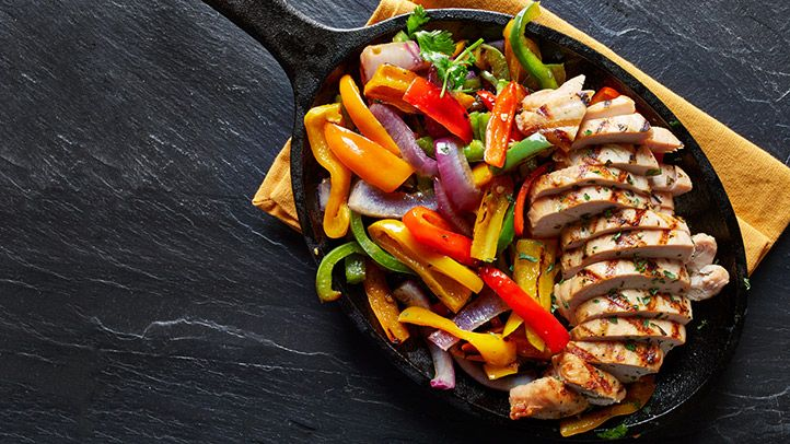 Easy Vegetarian Fajitas Recipe Easy Good Ideas Recipe In 2020 Vegetarian Fajitas Fajita Recipe Recipes