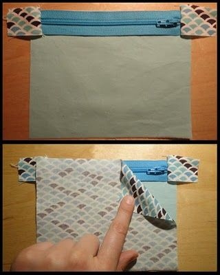 Good Zippered Clutch Tutorial. Explains how to sew around those frustrating zipper tabs from Carly @ A Sewcial Life #sewing