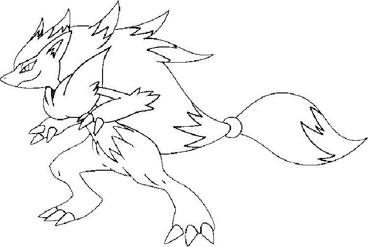 Pokemon Coloring Pages Zoroark Pokemon Coloring Pages Pokemon Coloring Bear Coloring Pages
