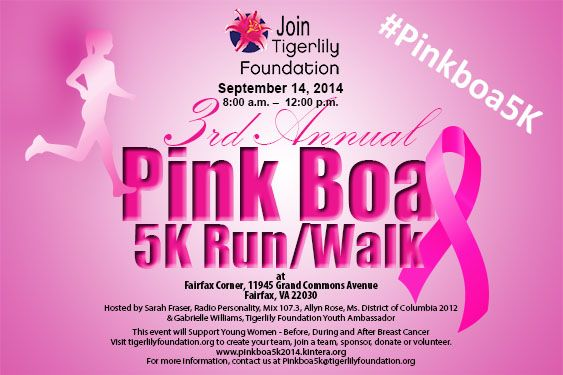 Pink Boa 5k Kintera Pink Fortitude Llc Pink Breast