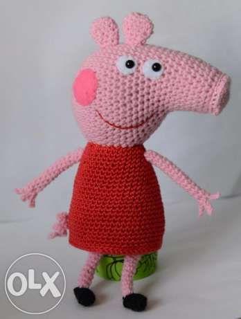 вязаная свинка пеппа киев 1 свинка пеппа свинки свинка пеппа