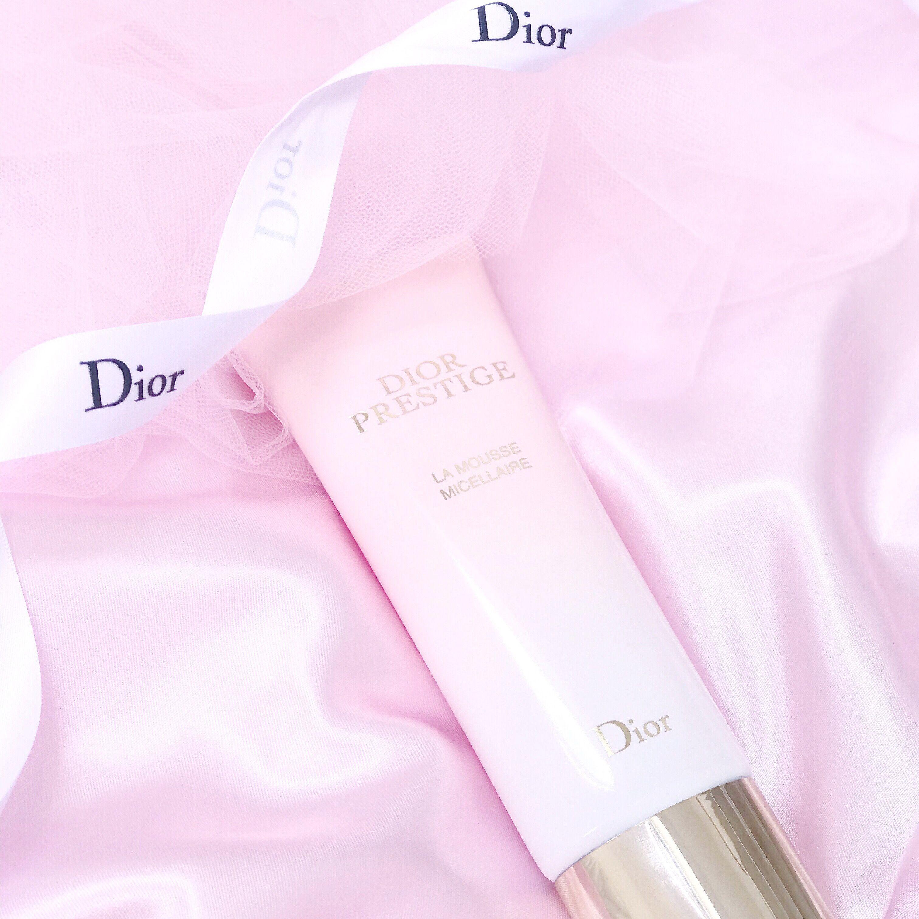 Oh So Heavenly Rose Petal Skin New Dior Prestige La Mousse Micellaire Dior Cosmetics Dior Skin