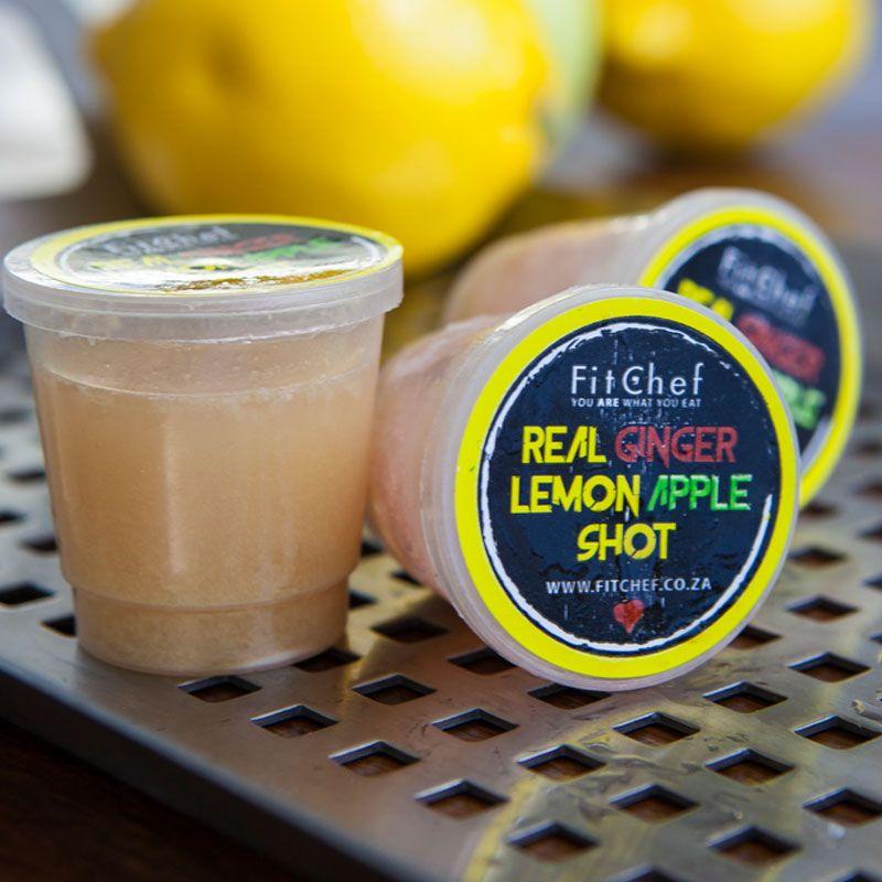 Delicious blends of Apple, Ginger & Lemon Juice. Order Online > www.fitchef.co.za