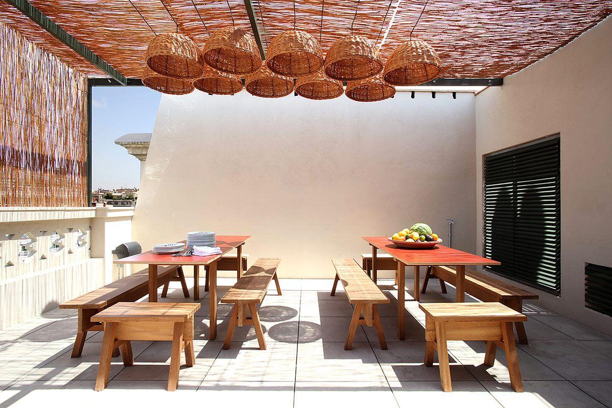 Hotel casa bonay en barcelona al aire libre casa bonay - Casa con jardin barcelona ...