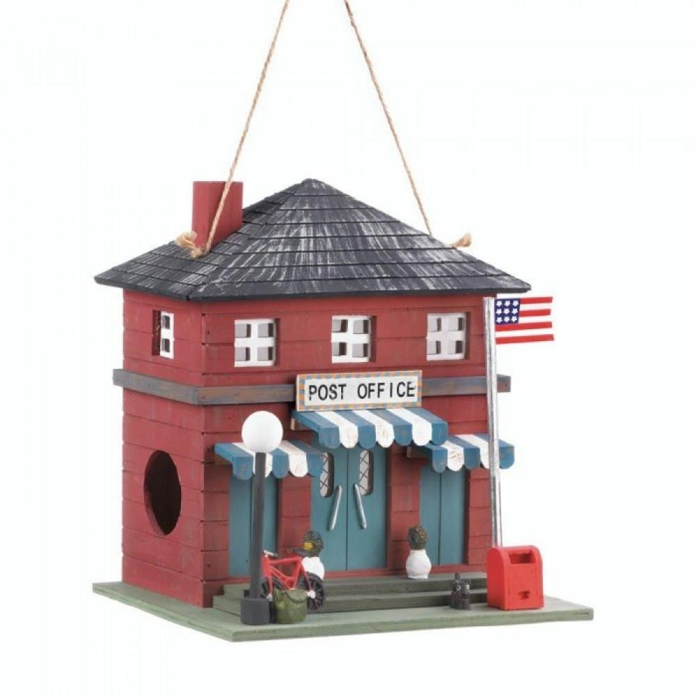 Post Office Birdhouse Bird Houses Wooden Bird Houses Bird House