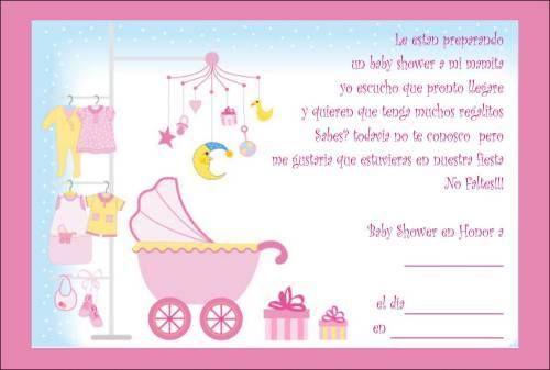 Frases Para Invitaciones De Baby Shower Invitaciones De