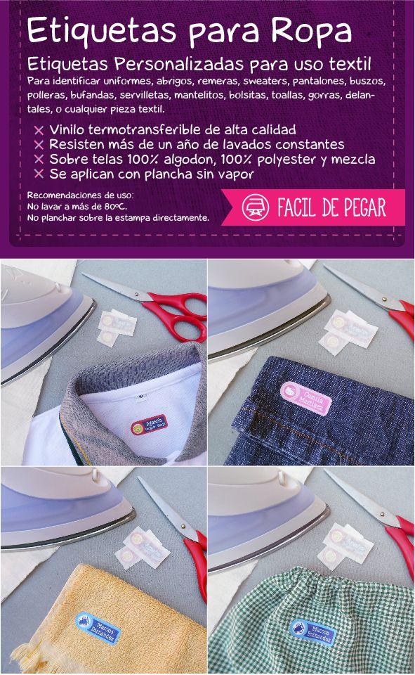 a84c3414e3d9b Etiquetas para la ropa