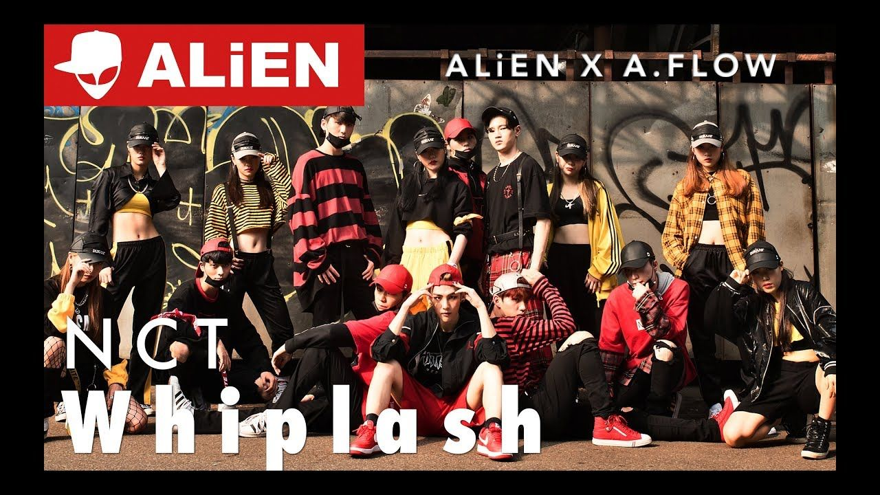 """NCT Whiplash"" ALiEN X DUKAAIF with A.FLOW"