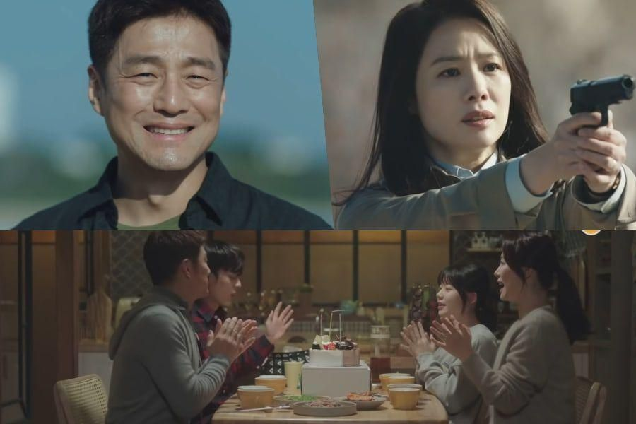 """Watch: Ji Jin Hee's Secret Mission Upends His Family Life In """"Undercover"""" Highlight Reel"""