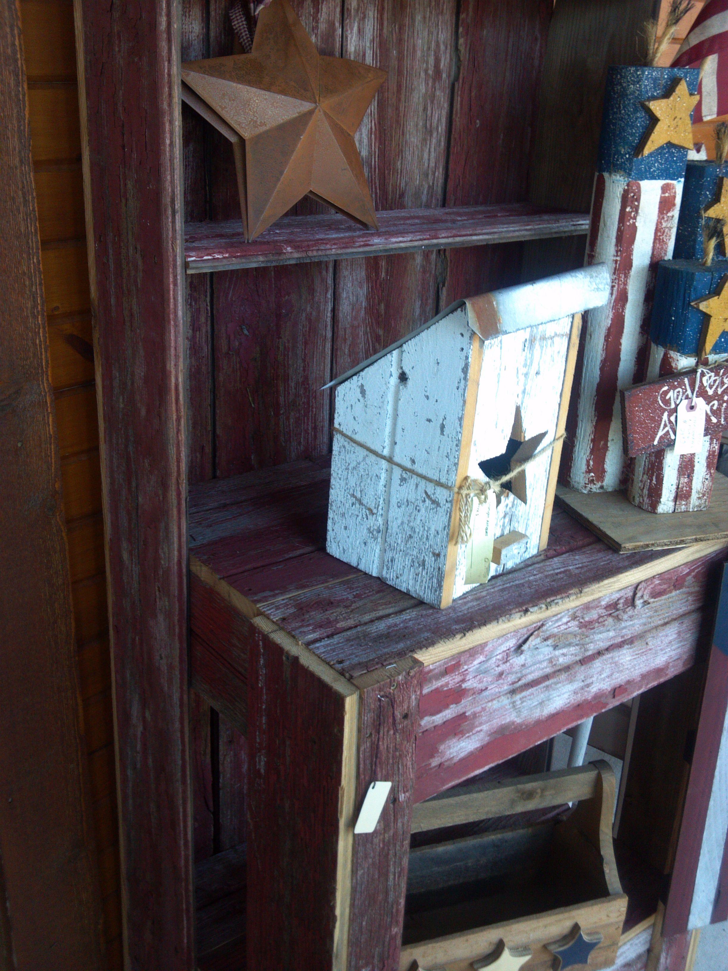 Old Barn Siding Cabinet