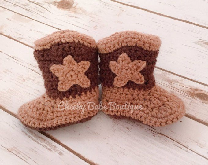 Etsy    Your place to buy and sell all things handmade Crochet Cowboy Boots 58b0082e835