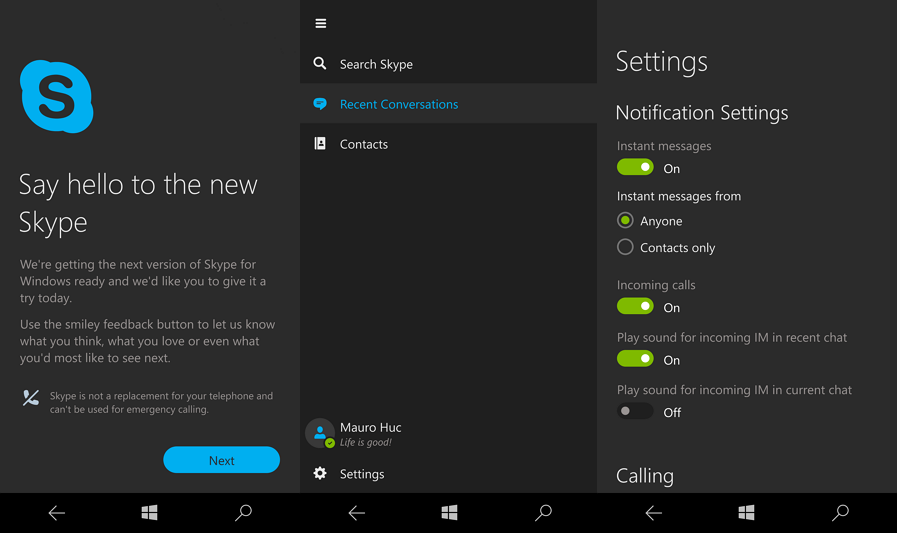 How to install the leaked Skype Universal app on Windows