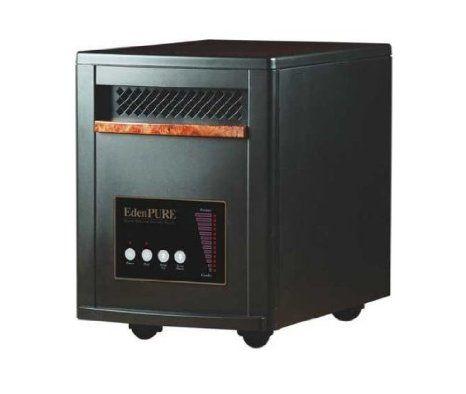 Amazon Com Eden Pure A4136 Gen 3 Quartz Infrared Heater 21 X 21