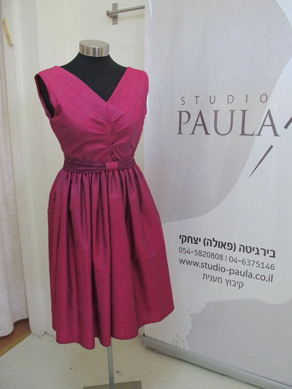Hey, I found this really awesome Etsy listing at https://www.etsy.com/listing/155456499/arja-custom-made-pink-silk-cocktail