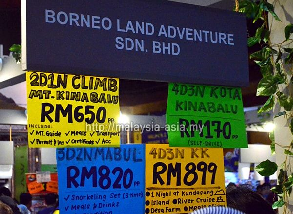 Sabah Travel Package Promotion 2018 Matta Fair 2018