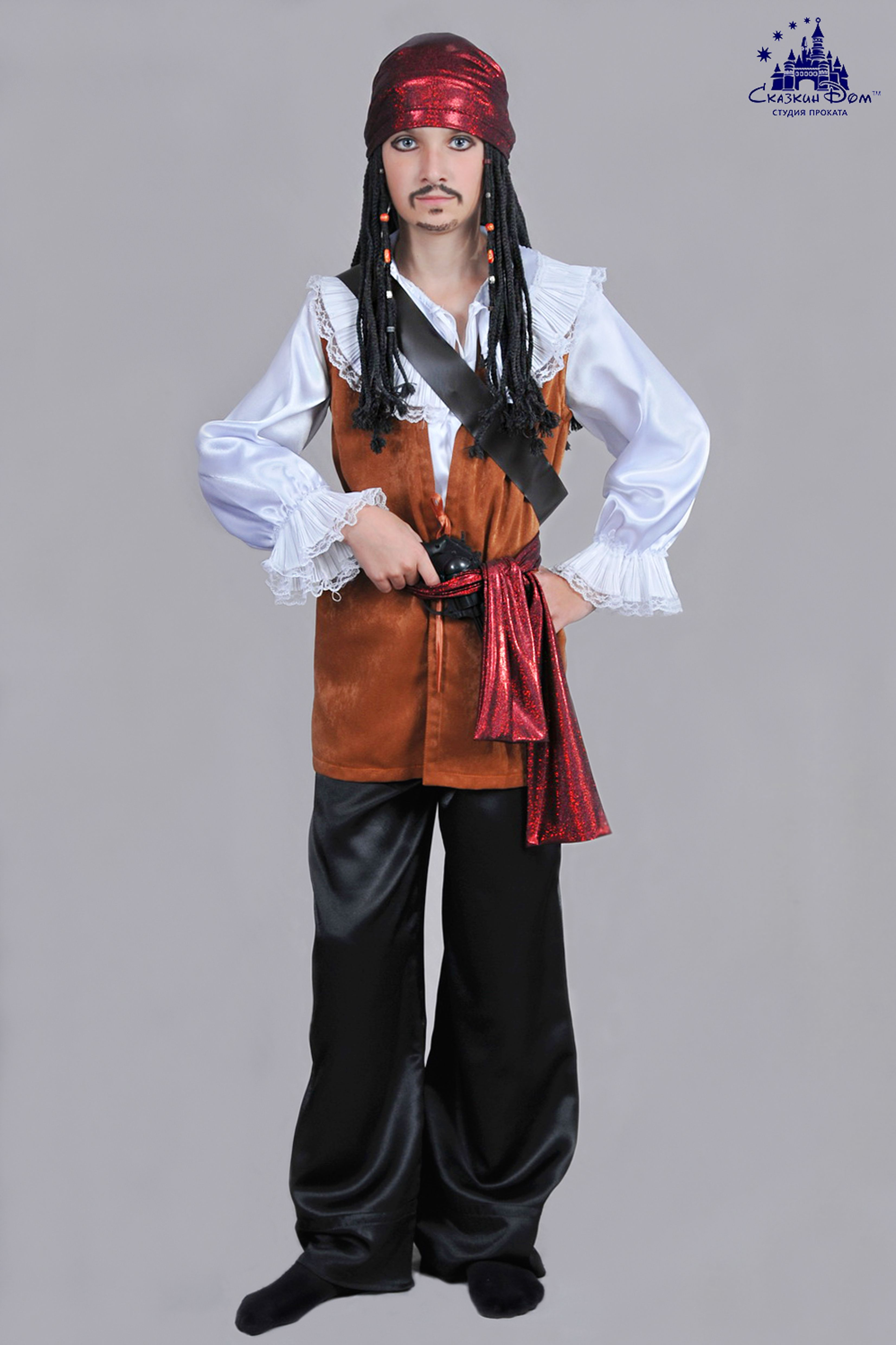 """Пират ""Джек Воробей"". Рост: 134 - 140 см. Сайт:) http ..."