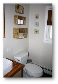 Hang Baskets In The Bathroom For Extra Shelving DIY Projects At - Bathroom hanging baskets for small bathroom ideas