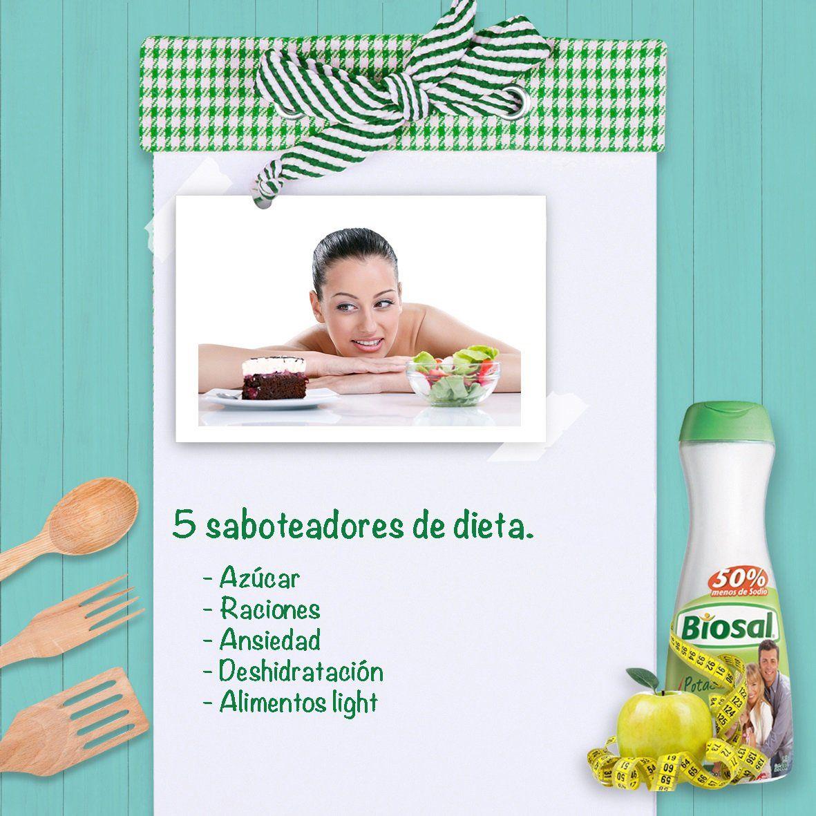 ¡Cuidado! Estos son 5 factores que podrían sabotear tu dieta.