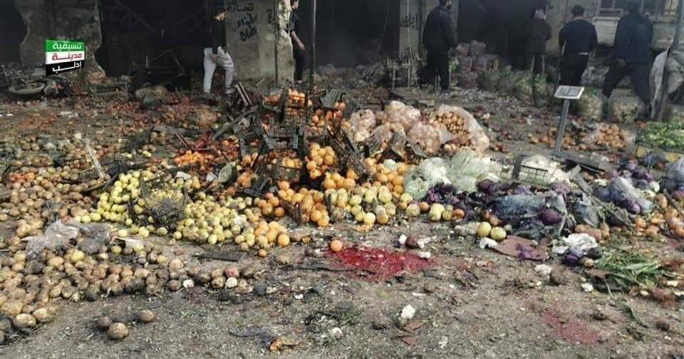النظام وروسيا ينقضون هدنة إدلب والقصف يسفر عن عشرات الشهداء